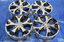 set of 4 Mazda 3 2007 2008 2009 17x6.5 64895 chrome wheels