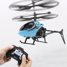 Mini RC Infrared Induction Helicopter Remote Control Drone RC Toy Blue Yellow Re