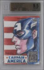 2016 Upper Deck Captain America 75th Anniversary #GIMO Gilbert Monsanto Auto b9t