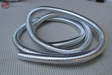 "Plastic Chrome Wire Loom 72"" 1/2 Diameter Hot Rat Street Rod Custom Car Truck"