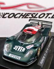 """PORSCHE 911 GT1 """"Silverston 98"""" Verde  """"Jever-Pirelli"""" - Nº 6 REF.A74 FLY"""
