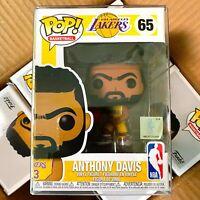 "Funko Pop Basketball : LA Lakers : Anthony Davis #65 Vinyl Figure ""Mint Box"""