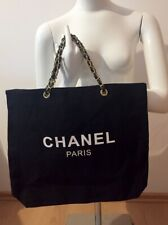 Chanel Counter Gift bag canvas tote