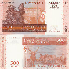 BILLET BANQUE MADAGASCAR 2500 FRS 500 ARIARY 2004 NEUF NEW UNC
