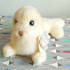 """Phineas the White Seal Gund 1986 10 """" Soft Toy Plush Comforter  EXCELLENT  TAGS"""