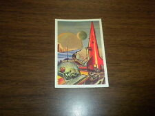 MISSILES AND SATELLITES trading card #24 PARKHURST 1958 space rockets planets