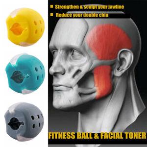 Jawline Übung Fitness Ball Nacken Trainer Face Muskelaufbau Lifting jawr Fitness