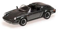 Porsche Speedster 1988 Grey Metallic 1:43 Model 430066135 MINICHAMPS