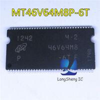 1PCS MT46V64M8P-6T:F MT46V64M8P-6T MT46V64M8P 46V64M8P-6T 46V64M8 TSSOP66 new