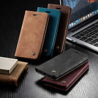 "Leather Phone Case Wallet Card Holder For Apple iPhon7 /8 4.7"" Magnetic Closure"