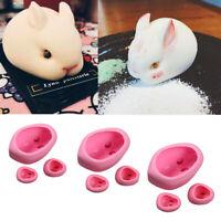 Rabbit Silicone Mold for Soap Cake Bread Cupcake Cheesecake Cornbread Muffin