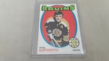 1971-1972 TOPPS Hockey #20 PHIL ESPOSITO  EX