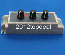 DC12-24V 3A rgb controller 3 channel RGB led dimmer controller for strip light