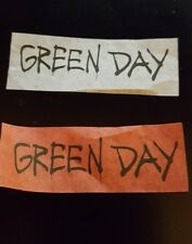 Green Day Chicago Cubs Wrigley Field Revolution Radio Concert Tour Confetti Set