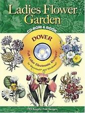 Ladies' Flower Garden CD-ROM and Book Dover Electronic Clip Art