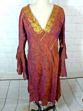 Bohemian Silk Dress India small