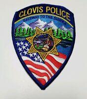 Clovis CA Police Patch New