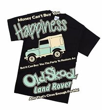 Land Rover Early series T Shirt Retro Classic 4X4 Off Road Petrol Head Gift