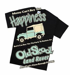 Land Rover Early series T Shirt Retro Classic Off Road Petrol Head Gift
