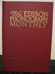 Scarce Edison Phonograph Monthly Collectors Book #8 NEW