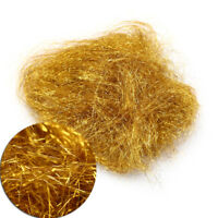 Golden color Flyart Pearl Ice Dub Fly tying material/Ultra Ice Dubbing  wl