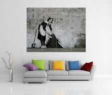 BANKSY 'MAID' GIANT WALL ART PICTURE PRINT POSTER G126
