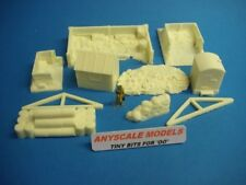 More details for 4mm oo gauge model railway accessories. small works yard 10pc    096