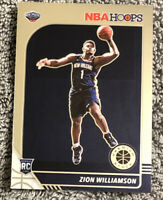 2019-20 NBA Hoops Premium Stock RARE Variation Zion Williamson RC #258 Rookie