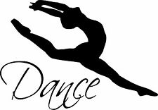 """Dance Wall Décor Decal is 48""""x 32"""" in size. FREE SHIPPING"""