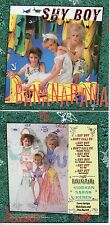CD Single Bananarama SHY BOY 8-TRACK CARD SLEEVE REMIXES