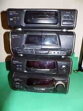 Technics SA-EH50 AMP Amplificateur + CD + CASSETTE DECK HIFI Pile + Sound Processor