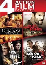 New! 4 Film DVD Set - Kingdom Of Heaven + Name King I, II & III - Statham Bloom