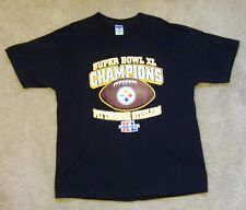 PITTSBURGH STEELERS SUPERBOWL XL CHAMPIONS NFL T-SHIRT EXTRA LARGE