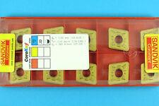 10 SANDVIK CNMG 160616-PR- Grade 4025 CNC Lathe Coated Carbide Turning Inserts