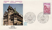 FRANCE FDC - 888 1798 3 COLMAR 10 6 1974 - LUXE