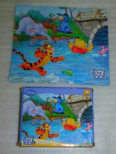 Winnie Pooh Jigsaw Puzzle 24 Tigger Eeyore Piglet River Bridge Butterfly Disney