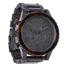 Nixon 51-30 Chrono Matte Black Custom Solid Stainless Steel Mens Watch