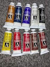 NEW Grumbacher Set Of 10 Oil Paints 1.25