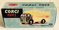 Corgi 453 Commer Walls' Refrigeration Van Empty Repro Box