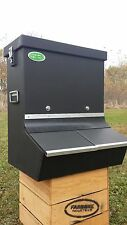 Heavy Duty Long Lasting Plastic Hog/ Pig Feeder Double Bin