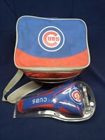 MLB Chicago Cubs Headcover For Oversized Drivers W/ Cubs 12 Pack Cooler/Luncbag