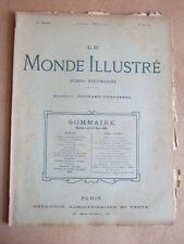 LE MONDE ILLUSTRE 26 JUIN 1897 N° 2100 JOURNAL HEBDOMADAIRE. Dir E. DESFOSSES