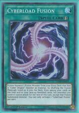 Yugioh Card - Cyberload Fusion *Super Rare* LED3-EN014 (NM/M)
