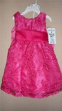 Rare Editions Fuchsia Infant Girl Dress Size 24 month NWT