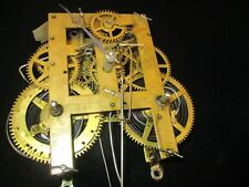 New Listing1880'S E.N. Welch 8 Day Time And Strike Clock Movement For Parlor Clock