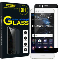 """Lot Film Vitre Verre Trempe Protecteur d'écran pour Huawei P10 Lite 5.2"""""""