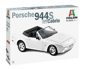 Italeri 1:24 3646 Porsche 944 S Cabrio Model Car kit