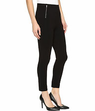 75% OFF! AUTH HUE WOMEN'S FAUX ZIPPERED SKIMMER LEGGINGS PETITE SMALL BNEW $ 36