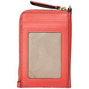 Michael Kors Women's Holder Jet Set Charm Card, Pink Grapefruit 32S0GT9N0L665