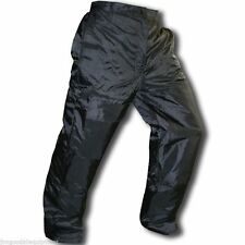"Chain Saw Winter Safety Pants, Meet OSHA, Insulated, Cargo Pockets XL:44""-46"""